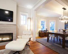 Modern Fireplace Surround Design, Pictures, Remodel, Decor and Ideas - page 4