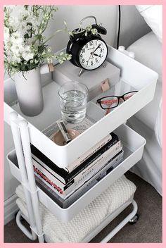 9 elegant organization ideas for small rooms decoration - Bedroom Ikea Furniture Hacks, Ikea Hacks, Cheap Furniture, Ikea Bedroom Furniture, Ikea Bedroom Storage, Furniture Stores, Diy Hacks, Cleaning Hacks, Furniture Cleaning