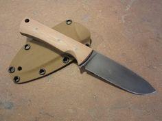 Making a custom knife for an Infantryman - YouTube