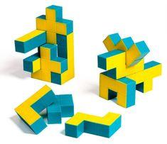 Pentaminoes 3D Puzzle Cubes $16.99