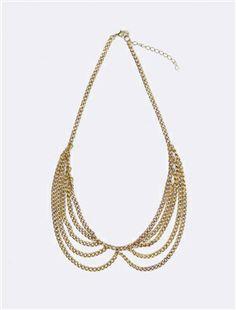 Cyrillus Peter Pan collar necklace
