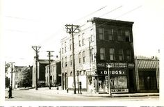 Olive and Garrison. Historical Images, Historical Society, Drug Store, Missouri, The Row, Drugs, Street View, History, Pictures