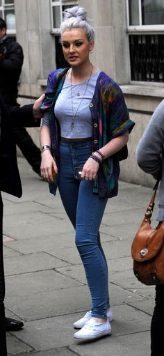 Little Mix Perrie Edwards love her outfit so much!