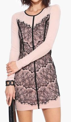 LOVERS AND LACE DRESS BEIGE