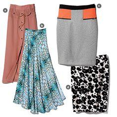 Spring skirts