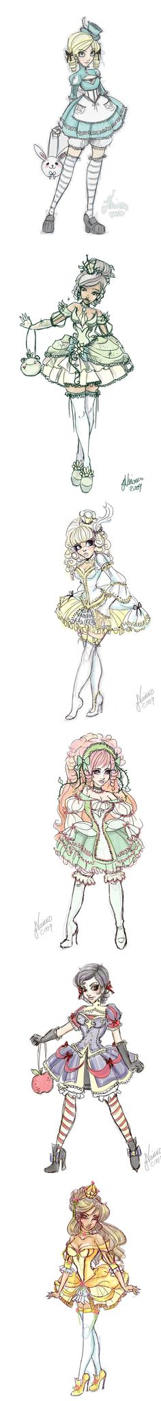 Lolita disney characters