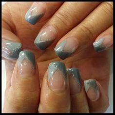 Grey nail tip