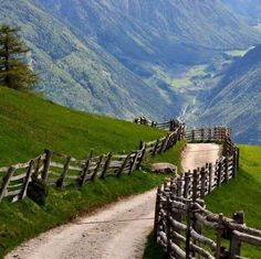 Spring in the Alps, Südtirol, Austria-our cycle trip path Places To Travel, Places To See, Places Around The World, Around The Worlds, Belle Photo, Beautiful Landscapes, The Great Outdoors, Wonders Of The World, Beautiful Places
