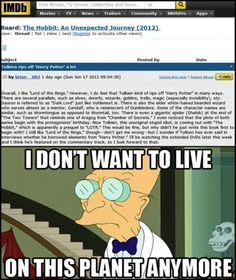 Lord of the Rings vs Harry Potter?