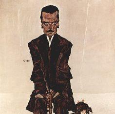 [Egon Schiele   Expressionism   Painting   Art]