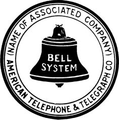 Bell System - Wikipedia, the free encyclopedia Bell Logo, Bell Image, American System, Nerd, Memory Problems, Vintage Phones, Phone Companies, Telephone, Decorative Bells
