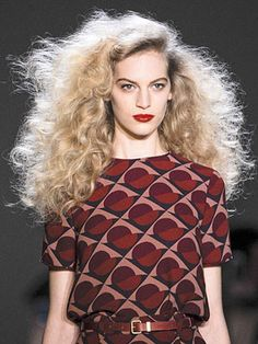 Wild Woman Waves ::: Runway Beauty Trends Fall 2013 - Runway Hair and Makeup New York Fashion Week