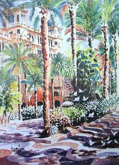 Alicante, Drawing Practice, Travel Posters, Arch, Outdoor Structures, Drawings, Painting, Videos, Gold