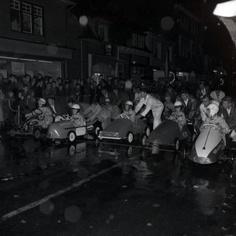 Skelteren 1960. Woenselse Markt Eindhoven.