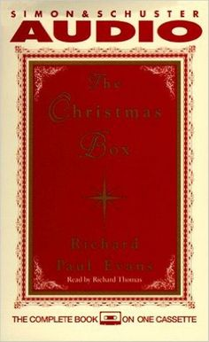 Christmas Box Cassette Audio Cassette Audiobook Unabridged by Richard Paul Evans #Anagram #CongratulationsBabyBoy