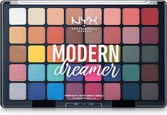 Nyx Eyeshadow Palette, Nyx Palette, Eyeshadow Tips, Eyeshadow Makeup, Eyeshadows, Bright Eyeshadow, Lipsticks, Make Up Palette, Paleta Nyx