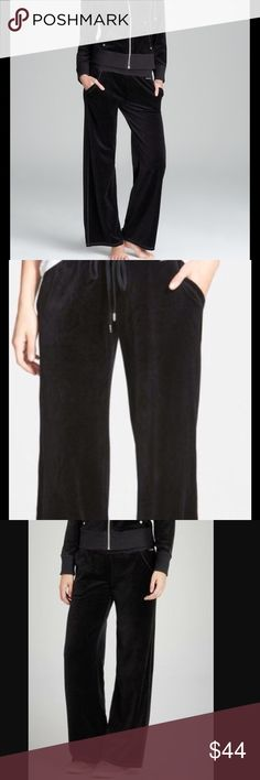 Michael Kors Black Velour Pull on Pants New With Tags.  Michael Kors Black Velour Pull on Pants.  Size:  MEDIUM.  Retail: $89.00 Michael Kors Pants Track Pants & Joggers