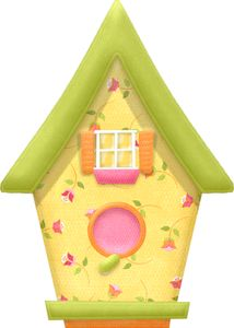 """Photo from album """"Nitwit - One Birdie Lane Collection"""" on Yandex. House Doodle, Family Tree Worksheet, Decoupage, Clip Art Library, Diy And Crafts, Paper Crafts, Felt Crafts, Bird Clipart, Clip Art Pictures"""