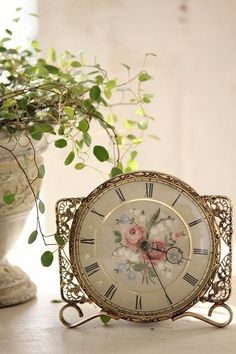 Beautiful vintage clock