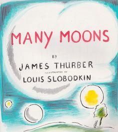 Many Moons, cover art, Louis Slobodkin
