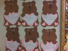 Crayons & Curls: Miss Kindergarten's Valentine Bears