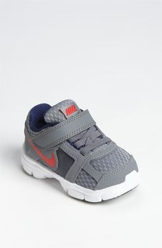 Nike 'dual fusion st running shoe (baby, walker & toddler) available at Nike Shoes Maroon, Cute Nike Shoes, Cute Baby Shoes, Cute Nikes, Nike Shoes Outfits, Boy Shoes, Crib Shoes, Boy Outfits, Fashion Outfits