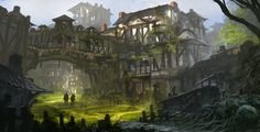 Feng Zhu demonstrates his approach to designing fantasy video game environments in this new video tutorial. Tutorial starts at 2:00 http://www.youtube.com/