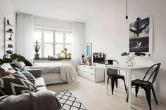 50+ Apartment One Room Layout_25