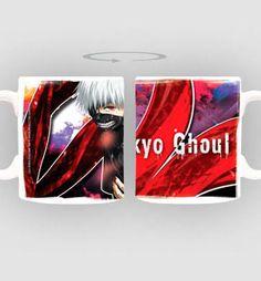 """Taza Kaneki Ghoul. Tokyo Ghoul  Estupenda taza titulada """"Kaneki Ghoul""""  fabricada en material de cerámica, 100% oficial y licenciada y perteneciente al manga/anime Tokyo Ghoul."""