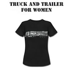 Truck and Trailer for woman