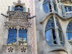 Détail des façades de la Casa Amatller et de la Casa Batlló | Les Bons Plans de Barcelone