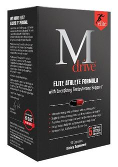Mdrive Elite Energizing Testosterone Booster with Cordyceps, Fenugreek and KSM-66, 90 Count - http://www.sportsnutritionshack.com/testosterone/mdrive-elite-energizing-testosterone-booster-with-cordyceps-fenugreek-and-ksm-66-90-count/