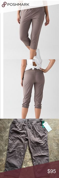Lululemon DANCE STUDIO CROP II Cool Cocoa size 8 New with tags. No trades. PRICE FIRM lululemon athletica Pants Capris