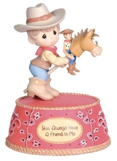 """Precious Moments Disney Collection """"You've Got A Friend In Me"""" - Collectible Figurines Disney Precious Moments, Precious Moments Quotes, Precious Moments Figurines, Disney Figurines, Collectible Figurines, Biscuit, Disney Treasures, Toy Story Party, Disney Toys"""