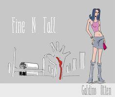 Fine N Tall Font