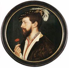 Hans Holbein, Portrait of Simon George, 1536.