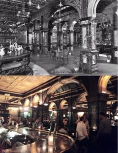 Marble Bar in the Tattersal's Hotel/Adams Hotel/Hilton Hotel Harvey. By Phil Harvey] Phil Harvey, Then And Now Photos, Australian Continent, Sydney City, Largest Countries, Amazing Pics, Small Island, Sydney Australia, Tasmania