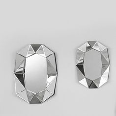 Reflections Spiegel Diamond Small silber - CHF 720 Shops, Reflection, Chf, Mirror, Abstract, Artwork, Home Decor, Diamond, Homemade Home Decor