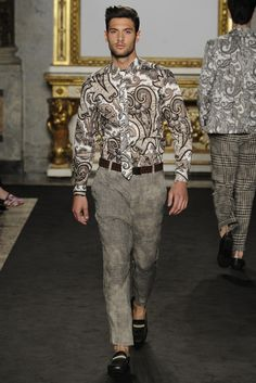 Roccobarocco Men's RTW Spring 2014 - Slideshow - Runway, Fashion Week, Reviews and Slideshows - WWD.com