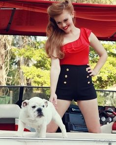 Teen Wolf Photo: holland roden Photoshoots in 2011 Lydia Banshee, Pin Up Style, My Style, Teen Wolf Mtv, Vintage Outfits, Vintage Fashion, Rockabilly Hair, Pin Up Hair, Beautiful Long Hair