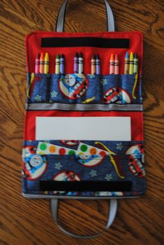 Thomas The Train Crayon Carrying Case By Swtpzmom On Etsy 1695