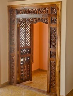 Get tips on creating these gorgeous pooja room ideas in small house. These Indian pooja room designs can easily fit into a flat or an independent house. Pooja Room Door Design, Door Gate Design, Main Door Design, Home Room Design, Home Interior Design, House Outer Design, House Design, Decor Wedding, Wedding Colors