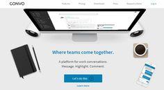 Convo, directo rival de Slack, ha llevado a cabo la renovación y rediseño de su servicio desde cero con el objetivo de posibilitar que las colaboraciones e