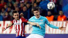 Atlético Madrid sufrió más de la cuenta para eliminar a PSV