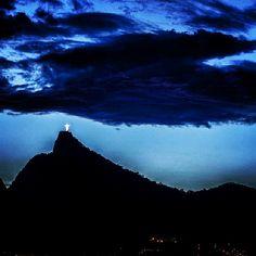 O céu sobre o Rio de janeiro