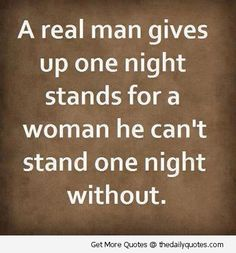 truth about women night stands