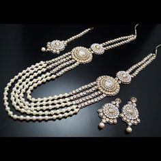 Bling For You offers #Pearl_Rani_Haar at the most competitive prices in the market. All the sets include necklace and earrings. Simply visit our site, look the offerings carefully and order what you like. You set will be delivered soon at your door-step.