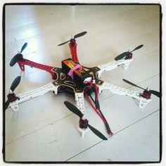 DJI 550 Naza. Dags att ta flygbilder igen.