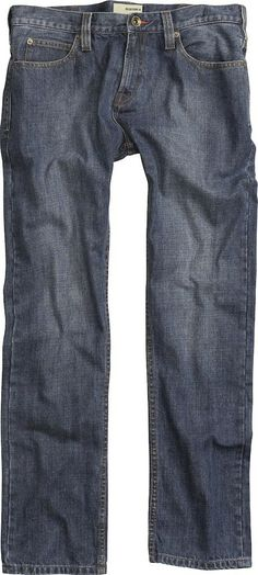 Burton Mid Fit Denim Worn