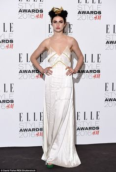 Tali Lennox made sure she was there to support her musician mother Annie at the Elle Style...